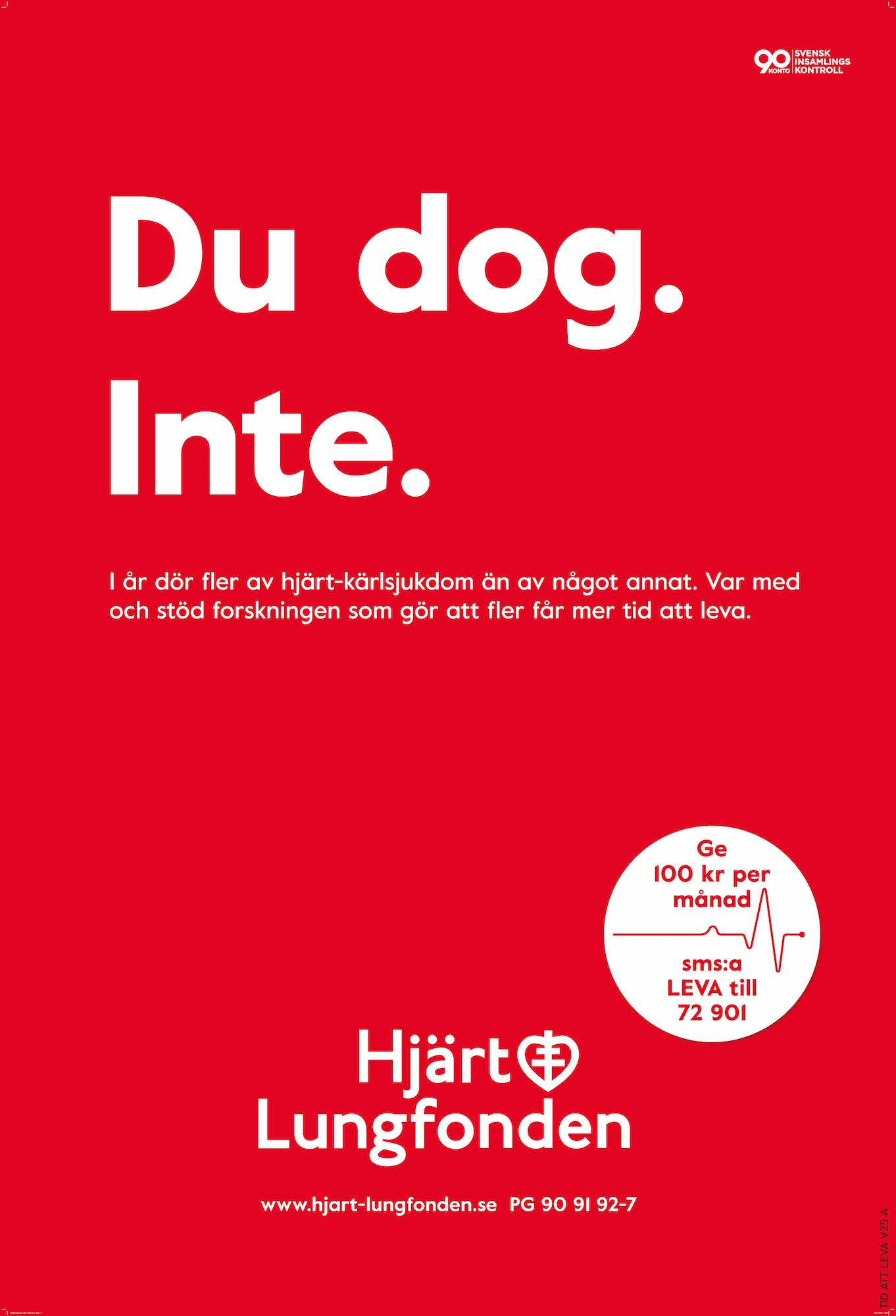 Hjärt-Lungfonden Outdoor Campaign | We Are ÖPPET